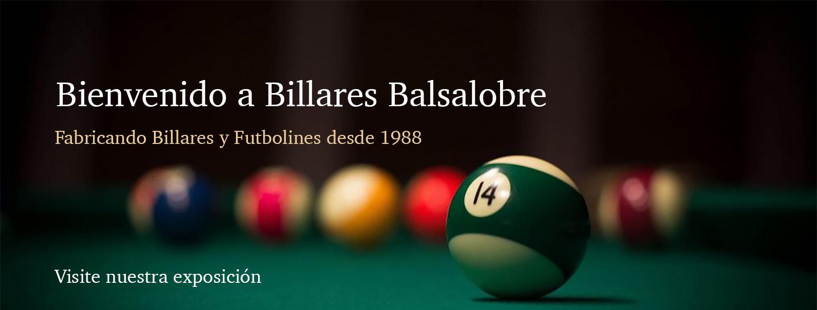 Billares Balsalobre - imagen web principal